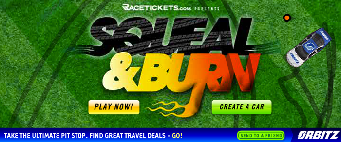 Squeal and Burn Racing Game